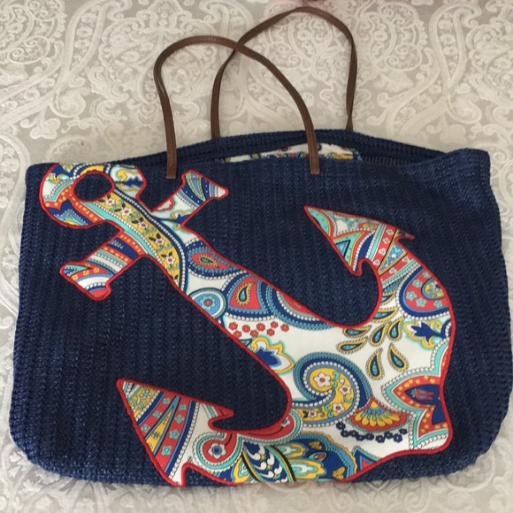 20c5463574 Vera Bradley anchor beach bag. M 5a5e5d7a9a9455b97c4ef1a6